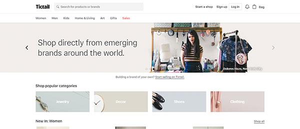 tictail e-commerce platform