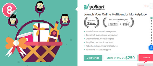 yocart e-commerce platform