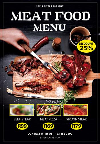 meat flyer