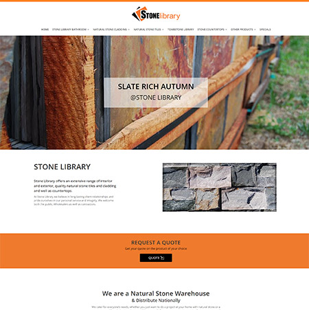 Stone Library Natural Stone Suppliers